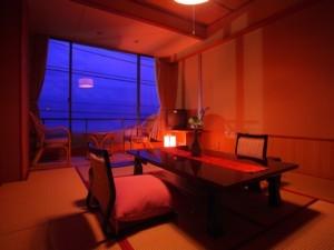 【ひいなで一番予約が多いお部屋】 海一望10畳和室