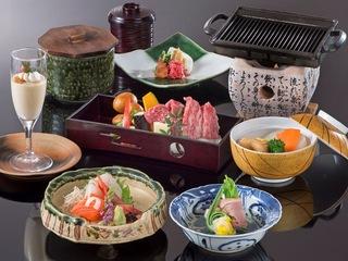 【お財布にやさしいお手頃価格♪】飛騨牛の陶板焼きをメインにしたお手軽和定食プラン