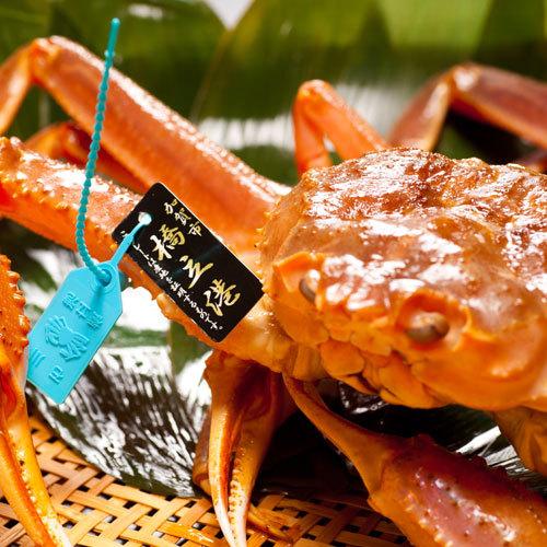 【県内産タグ付活蟹プラン】活蟹一杯を≪刺し・焼き・蒸し≫で大満喫!