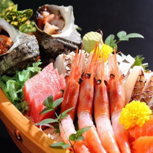 【舟盛り】日本海の恵みを満喫!喜多八プラン
