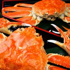 【カニ2杯つき】蟹好き必見!北陸の冬の味覚をたっぷり贅沢に味うならこちら★ゆでカニ2杯+ゆったり会席