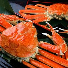 【板長厳選・活蟹プラン】冬の一押し!地元民おすすめはこちら。新鮮活蟹を≪刺し・焼き・蒸し≫で