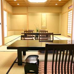 【貴賓室】最上階二間続き特別室<貸切風呂1回利用付>