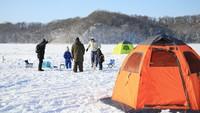 ■冬季限定■初心者大歓迎の手ぶらで出来るワカサギ釣り体験<体験料+調理サービス>