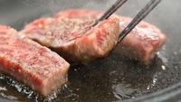 ■料理ランクUP■一番人気の極上料理プラン!<塩川牛+米沢牛+会津名物馬刺し3種>