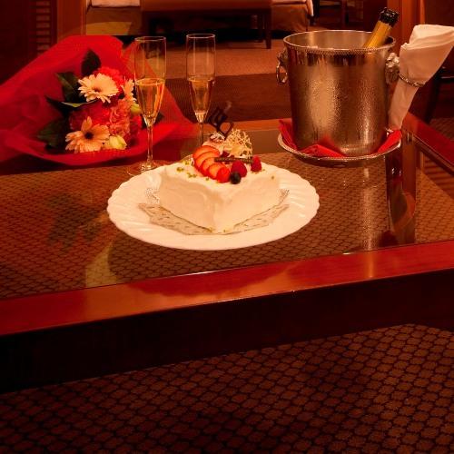 〜特別階ジュニアスイートで過ごす記念日〜【ケーキ&シャンパン】&【ルームサービスディナー】の特典付!