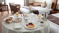 【当館人気】カップルにおすすめ。特別階ダブルベッド[朝食はルームサービス選択可&レイトアウト無料]