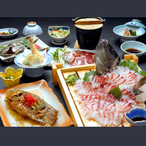 【料理UP】自家養殖!摩周鯛の活き造り&姿唐揚げ