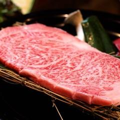 【楽天限定】アワビが躍る海鮮焼きと味の芸術、良質A4前沢牛、極上特選いろり会席