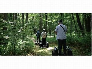 ◆セグウェイパークライドプラン◆【八ヶ岳アウトドア体験】不思議な乗り物セグウェイ!!