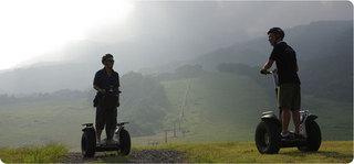 ◆早朝セグウェイプラン◆ 【八ヶ岳アウトドア体験】不思議な乗り物セグウェイで自然にとけ込もう!!