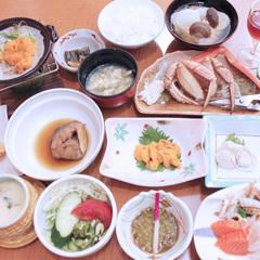 【さき楽30】遅い春の吹息を楽しもう♪利尻島&利尻の海の幸満喫☆1泊2食