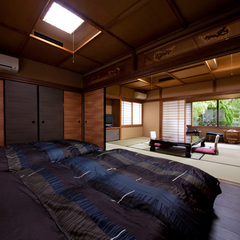 和室10畳、洋室7.5畳、控え2疊、縁側 ※禁煙
