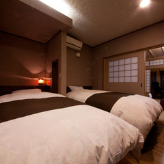 天然温泉風呂付特別室 和室8畳 ベッド室 広縁 ※禁煙