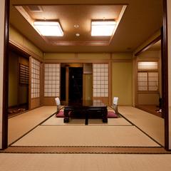 専用露天風呂付客室16畳(和室8畳2間続き特別室)※禁煙