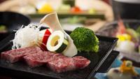 【厳選●能登牛ステーキ付】季節感じる自慢の会席料理と上質ブランド牛を堪能できる満足プラン♪遊菜
