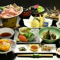 【スタンダード】自家製有機野菜を使った♪信州の恵み満載 創作料理 1泊2食付きプラン