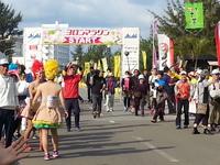 朝夕付【第27回ヨロンマラソン大会】《駆け抜けよう☆春爛漫南の島の珊瑚の白い道とさとうきび畑路》