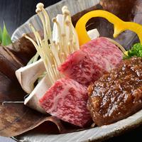 <自分に捧げる、至福の晩餐。ひとり旅>『信州プレミアム牛3種味くらべ』夕食・朝食ともに、個室でお食事