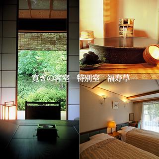 【寛ぎ半露天付】◇日本の四季を感じる特別室◇-福寿草-