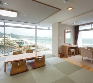 2021年4月〜【和室特別室】シーワールドと海が一望できる特別なお部屋