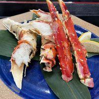 【焼きタラバ蟹付】「和食会席」+焼きタラバ蟹付で贅沢な夕食を!【章月おもてなし夕食膳】