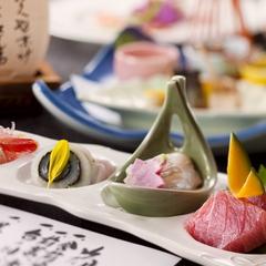 【部屋食】和食会席「彩花」−時季により変わる, 章月のスタンダード膳−
