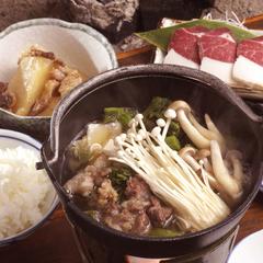 """【選べるお鍋】石川に来たらコレを食べなきゃ!山の幸""""リーズナブル""""【1泊2食付】【お先でスノ。】"""