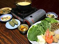 【奈良春夏旅】ポイント5倍!グレードUP↑飛鳥鍋】大和肉鶏使用♪飛鳥鍋!【1ドリンク付】<2食付>