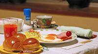 【遅着OK】夜は自由に、朝はパンで元気を充電!<朝食付>