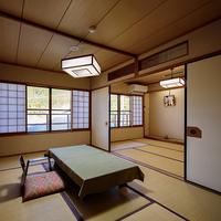由布岳の見える本館2階・和室二間(6畳+8畳)[禁煙]