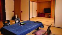 【萩】グループ向け和室二間・本館2階〜山側の角部屋[禁煙]