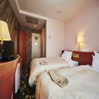 【喫煙】ツインルーム15平米ベッド幅1200×2