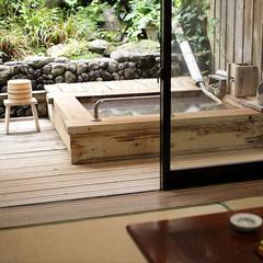 《 ふじ・つつじの間 》和室6畳トイレ付/露天風呂付客室