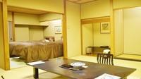 <禁煙>DX新館【楽山館】広々2間12.5畳+ツインベッド