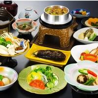 【採れたて新鮮】 美味しい野菜+山菜釜めし付 野菜中心のべじたぶるプラン