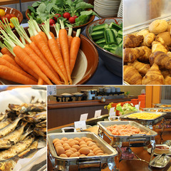 ☆朝食は渥美の新鮮野菜たっぷり、25種類の和洋バイキング■1泊朝食プラン