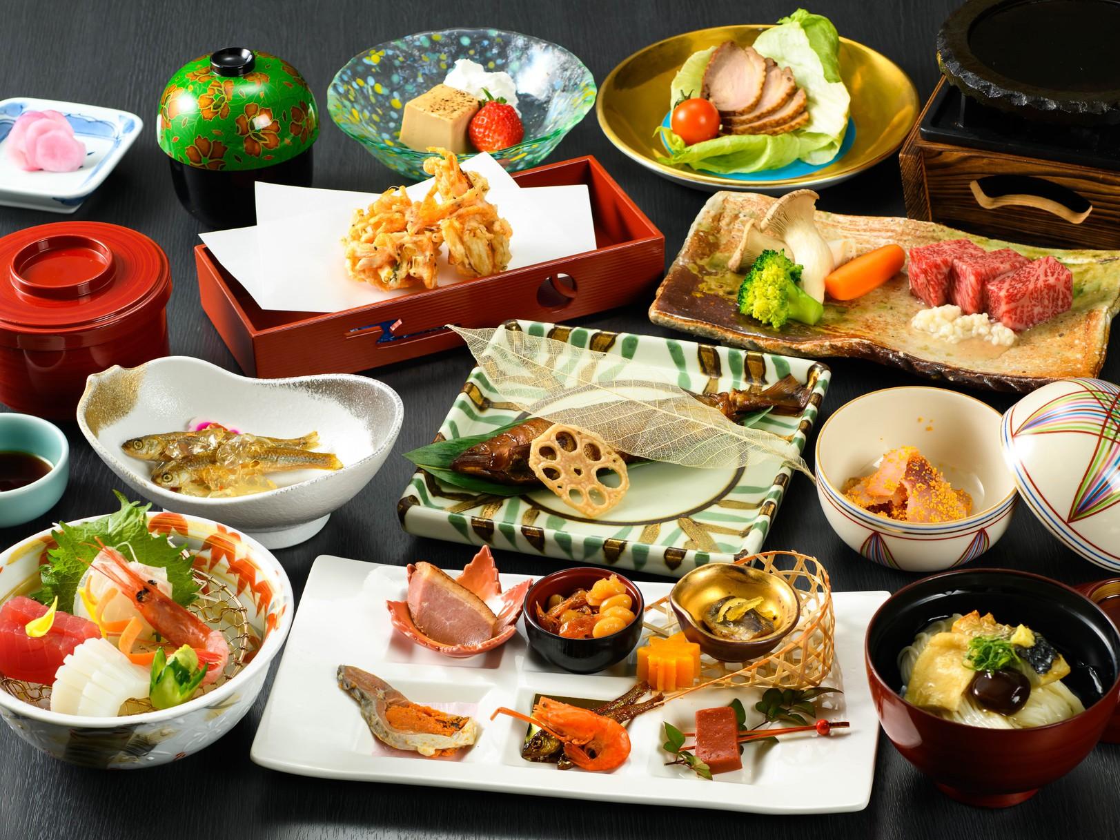 【ご当地グルメ】▲滋賀を味わう▲咲saki会席〜夕・朝食プラン〜