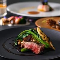 ■◎【近江牛】◎最上階レストランでシェフお任せフランス料理と景色を愉しむ〜夕・朝食付き〜