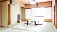 【鶴・亀の部屋】2間続き和室14帖(バス・トイレ共用)