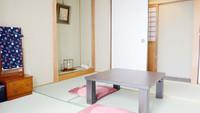 【梅の部屋】6帖和洋室(バス・トイレ共用)