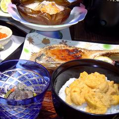 豪華な雲丹やアワビの料理を堪能!☆夏の特別積丹プラン