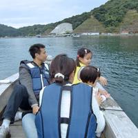 世界にココだけ!天草伝統の【 伝馬船 】で櫓漕ぎ体験★約60分の海上さんぽを楽しもう♪