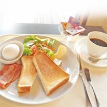 Park Cafeで朝食を!お得な朝食付きプラン♪