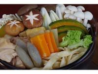 【冬季コテージ限定】お部屋で楽しむ選べる鍋プラン★2食付♪現金特価
