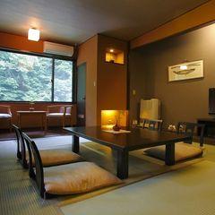 【すずらん亭】和室8畳。最もリーズナブル&コンパクトなお部屋
