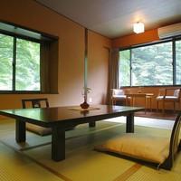 【禁煙◆すずらん亭】和室8畳。最もリーズナブル&コンパクト