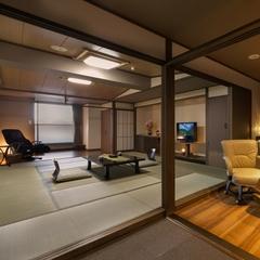【禁煙部屋・温泉付】露天風呂付き客室:和室15畳+ダイニング