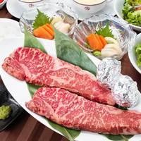 【贅沢ディナー】夕食はお部屋で国産牛ステーキに舌鼓。(ペット不可/夕食+軽朝食付)