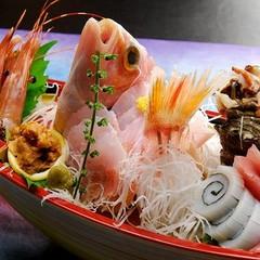 お刺身大好き集合!!漁村の舟盛り夕食のみつきプラン  温泉でほっこり お食事は提携魚系居酒屋で